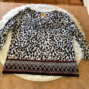 ⚡️2 for $15⚡️Ruby rd cowl neck blouse